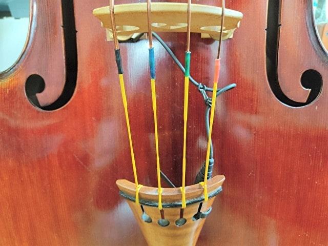 弦の下の部分の色は、下のようにカラフル